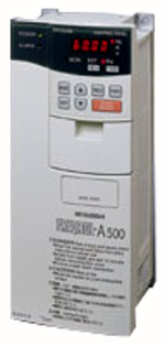 Mitsubishi A500 series inverters