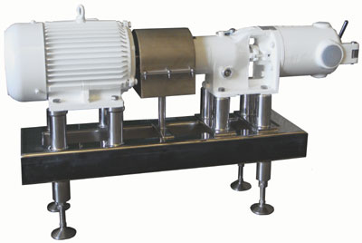 SIG SUP38 Chocolate Screw Pump for high viscosity chocolate