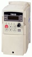 [0.75kW, 2.3A, 3-phase 380-480Vac TECO inverter, type: CV-4001-H3F with filter]