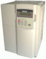 [5.5kW, 13A, 3-phase 380-480Vac TECO inverter, type: CV-4008-H3F with filter]